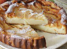 Gâteau aux Pomme et Mascarpone au Thermomix Healthy Apple Cake, Vegan Apple Cake, Fresh Apple Cake, Apple Cake Recipes, Homemade Cake Recipes, Baking Recipes, Dessert Thermomix, Mascarpone Cake, Fruit Cake Design