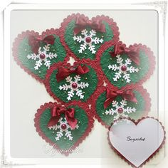 Christmas Tag, Christmas Ornaments, Digital Stamps, Embellishments, Scrapbooking, 3d, Tags, Holiday Decor, Creative