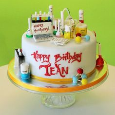 chemistry cake - Google Search More