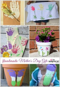 Handmade Mother's Day Gifts from Kids