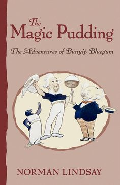 By Norman Lindsay Australian author and artist The Magic Pudding was first cooked in 1918, and thousands of children (and their parents) have been relishing it ever since. Norman Lindsay′s timeless classic follows the adventures of debonair young koala Bunyip Bluegum, sailor Bill Barnacle and penguin Sam Sawnoff - owners of the much-desired Magic Puddin′ Albert - who try to out-wit Possum and Wombat, the professional, and extraordinarily persistent, puddin′-thieves.