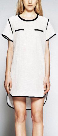 resort 2013. shirttail dress.