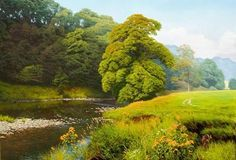forest-oil-paintingsLandscape Oil Paintings By British Artist Michael James Smith