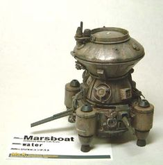 Marsboat (Maschinen Krieger ZbV3000) by Jpl3k - Jipple28, via Flickr