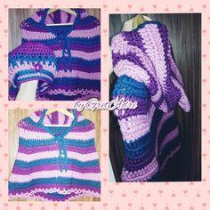 Crochet Poncho, My Favorite Things, Knitting, Fashion, Moda, Tricot, Fashion Styles, Breien, Stricken