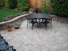 Learn about the different options for patio materials and surfaces.