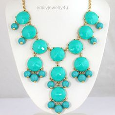 love this bubble necklace in every color!