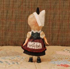 Julie Arkell, papier mâché    with love