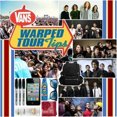 """""""Warped Tour Tips!"""" by secretslikeanchors ❤ liked on Polyvore"""