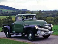 1952 Chevy Pickup.  I need to find a sun-visor for mine!