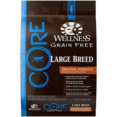 Wellness CORE Natural Grain Free Dry Dog Food - Large Breed Health Recipe - 12lb ~ You could get additional details at the image link. (This is an affiliate link and I receive a commission for the sales)