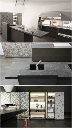 New Logica System Invitrum Verde Prato | Valcucine. Check It On Architonic  | Bad | Pinterest