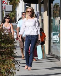 Reese Witherspoon, one of my fashion icons. She can pull off anything and makes the simplest choices look amazing.