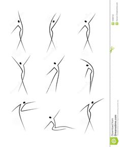 Stock Vector Vector – Abstract female figures in movement – Best Art images in 2019 Movement Drawing, Gesture Drawing, Line Drawing, Drawing Ideas, Drawing Poses, Pencil Art Drawings, Art Drawings Sketches, Easy Drawings, Contour Drawings