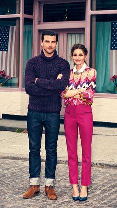 new york city style. couple