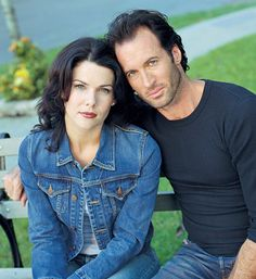 Lauren Graham and Scott Patterson as Lorelai Gilmore and Luke Danes in 'Gilmore Girls' Best Tv Couples, Movie Couples, Best Couple, Cute Couples, Famous Couples, Scott Patterson, Luke And Lorelai, Lorelai Gilmore, Glimore Girls