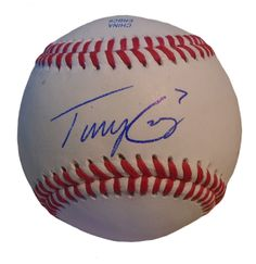 KC Royals Tony Cruz signed Rawlings ROLB leather baseball w/ proof photo.  Proof photo of Tony signing will be included with your purchase along with a COA issued from Southwestconnection-Memorabilia, guaranteeing the item to pass authentication services from PSA/DNA or JSA. Free USPS shipping. www.AutographedwithProof.com is your one stop for autographed collectibles from Kansas City sports teams. Check back with us often, as we are always obtaining new items.