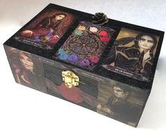 SOLD Tarot of Vampyres, Altar Box, Keepsake Box