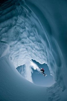 Skiing Whistler, British Columbia, Canada, Photograph by Eric Berger, Red Bull Illume! that is the most epic photo ever ! Whistler, British Columbia, Rafting, Red Bull, Ski Extreme, Ski Et Snowboard, Foto Sport, Epic Photos, Kayak