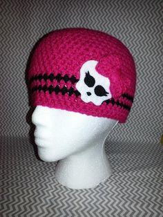 Crocheted Monster High Hat