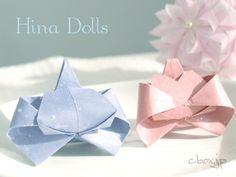 折り紙の基本と折り方 : 折り紙お雛様折り方立体 : 折り方