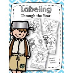 Get 33% off of this very useful labeling set with activities for each month of the year (excluding summer months).  Students think about the beginning sound of each label as they determine which word fits the best!
