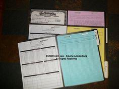 Folder Method of Horse Record Keeping | Helpful Horse Hints