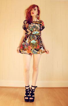 Nice printed dress