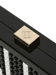 0778df3b58 Les Petits Joueurs Andy  piano  lego  perspex  clutch Luxury Shop