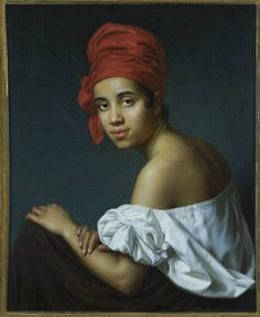 Creole in Red Turban - Historic New Orleans Coillection