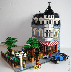 """""""Blue Corner Cafe"""" created by stefauser"""