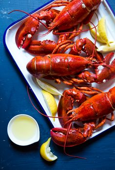 Kippy Young, the Maine lobsterman who gave us this recipe, advised us to boil the lobsters in seawater, but salted water works just as well.