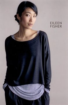 Eileen Fisher , I own a few sweaters and they are the best well made and soft sweaters that I have ever owned .