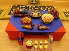 Korean traditional wedding - food and drinks