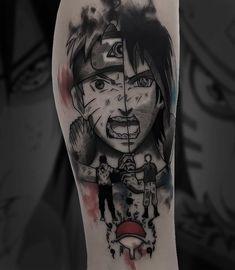 • Brendow Nany • (@brendowtatuagem) • Fotos e vídeos do Instagram Forarm Tattoos, Dope Tattoos, Anime Tattoos, Body Tattoo Design, Tattoo Design Drawings, Tattoo Designs, Tattoo Ideas, One Piece Tattoos, Arm Tattoos For Guys