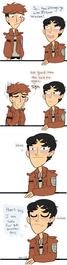 Jean...WHY ARE YOU SO DIFFICULT?! << lol