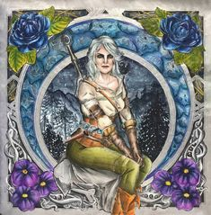 Svetlana S. (@svetlanka_raz) • Instagram photos and videos World Of Warcraft, Princess Zelda, Photo And Video, Painting, Fictional Characters, Instagram, Videos, Photos, Art