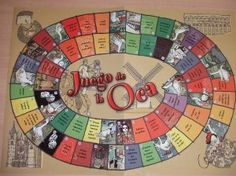 18 Best Juego De La Oca Images Board Games Tabletop Games Table