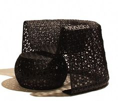 trendy outdoor furniture from woven synthetic 3