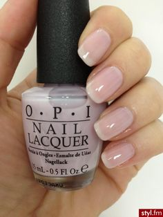 natural nails - Care To Danse from the OPI NYC Ballet Collection Blush Pink Nails, Nude Nails, Nail Manicure, American Manicure Nails, Manicure Ideas, French Nails, Nail Lacquer, Uñas Fashion, Nagellack Trends