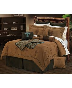 Crosses Queen Size Bedding Set