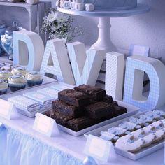 Mesa dulce bautizo david