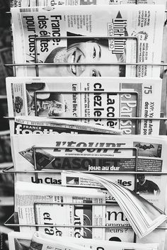 Parisian Newsstand...Inspiration for your Paris vacation