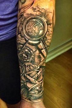 Sleeve tattoo Ideas 2   tatuajes | Spanish tatuajes  |tatuajes para mujeres | tatuajes para hombres  | diseños de tatuajes http://amzn.to/28PQlav