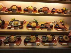 Plastic food models