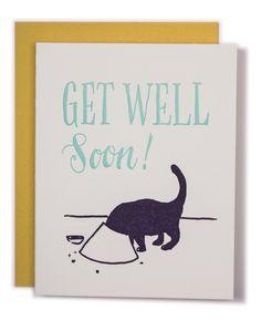 Get Well Soon card