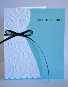 Wedding or bridal shower card. You could probably alter it for a baby shower too.