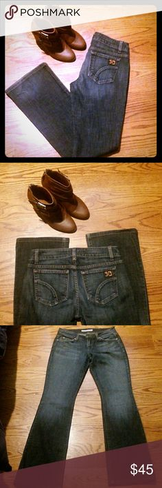 """JOE'S Jeans. NWOT. Sz27 Brand new pair of jeans. Too big for me and they have been sitting in my closet for too long. Very nice pair of jeans. Inseam 32""""The jeans don't state the style but it looks like boot cut. Joe's Jeans Pants Boot Cut & Flare"""