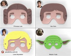 Máscaras de EVA Star Wars