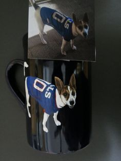 Pet Portrait Hand Painted Coffee Mugs Made to Order Any Animal Painted From Photo by Shannon Ivins Handmade Gifts For Him, Hand Painted Ornaments, Pet Memorials, Hand Painted Ceramics, Love Painting, Ceramic Painting, Pet Portraits, Fur Babies, Coffee Cups